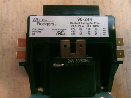 contactor 2 polos, coil 24, 30 amp.