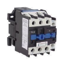 contactor 25a con bobina 24v / 220v / 380v 4 polo diletta d1