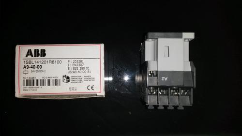 contactor abb a9-40-00 24v, ca.