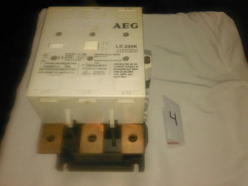 contactor aeg de 500 a 600 amp bobina 110v