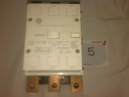 contactor de 500 a600 amp marca general electric bobina 110v