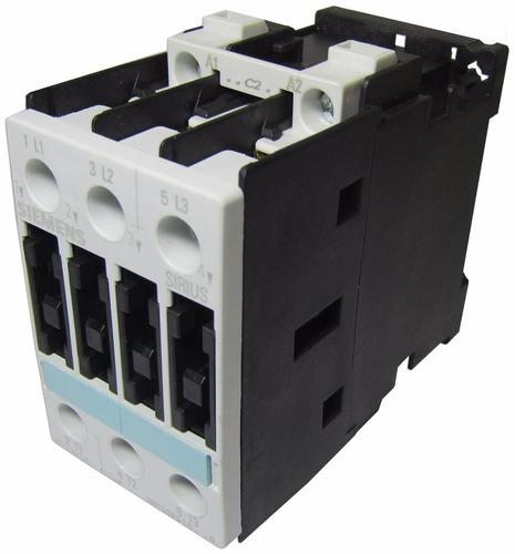 contactor de 9 a bobina 24v 4kw 5cv siemens 3rt1023-1ac20