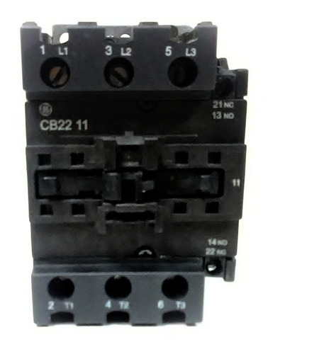 contactor ge pc101854 3p 230v 1na+1nc 50amp cnr-6851