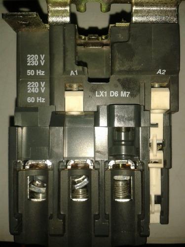 contactor lc1 d50m7 nuevo..
