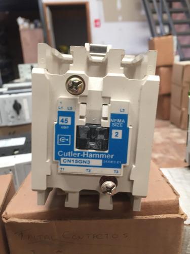contactor magnético 27 amp eaton cn15gn3ab