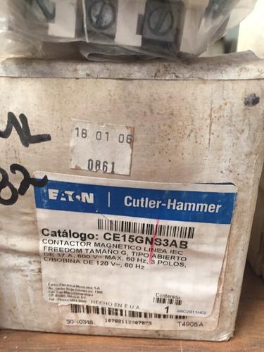 contactor magnético 37 amp eaton ce15gns3ab