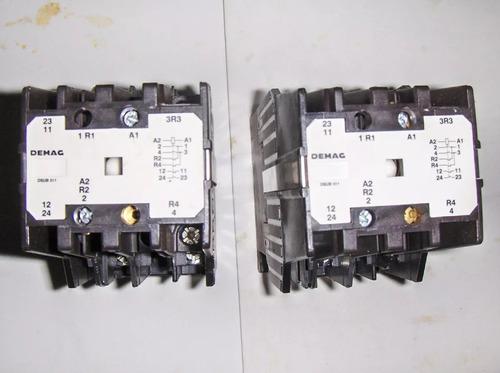 contactor magnetico para polipasto puentegrua original demag