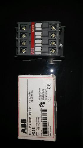 contactor marca abb n22e 440 vac, 3 amp