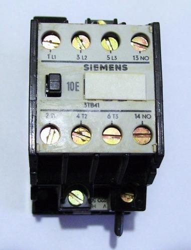 contactor rele relevador trifasico 20a siemens bobina 220