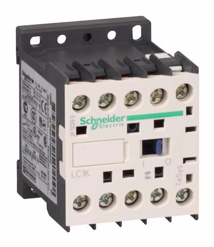 contactor schneider de 12a, 1nc, bobina 220v - lc1k1201m7