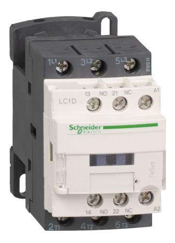 contactor schneider electric 18 amp 1na+1nc 110vac lc1d18f7