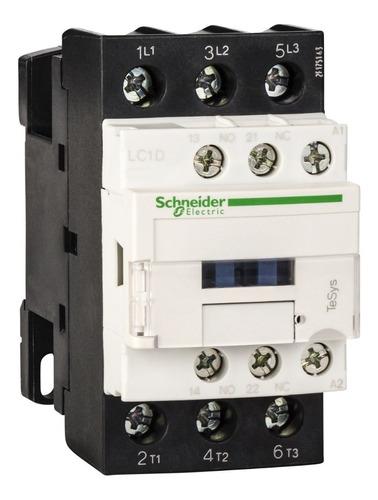 contactor schneider electric 25 amp 1na+1nc 110vac lc1d25f7
