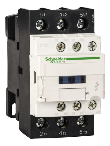contactor schneider electric 32 amp 1na+1nc 110vac lc1d32f7