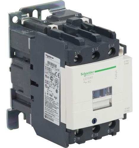 contactor schneider electric 40 amp 1na+1nc 110vac lc1d40f7
