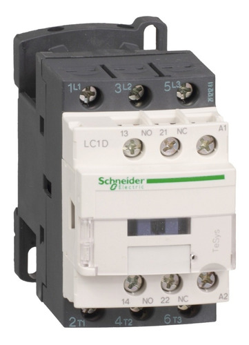 contactor schneider electric 9 amp 1na+1nc 220vac lc1d09m7