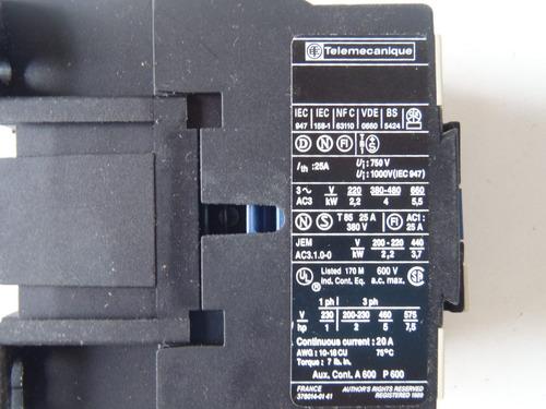 contactor telemecanique nuevo