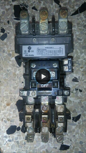 contactor trifasico 45 amperios bobina 480v