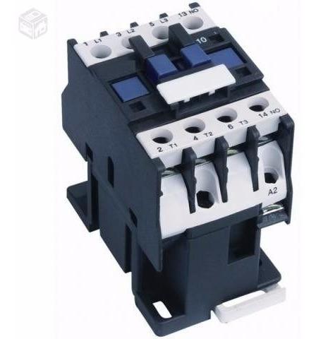 contactor tripolar 50a 12/24/110/220/380v 1 aux na thomelec