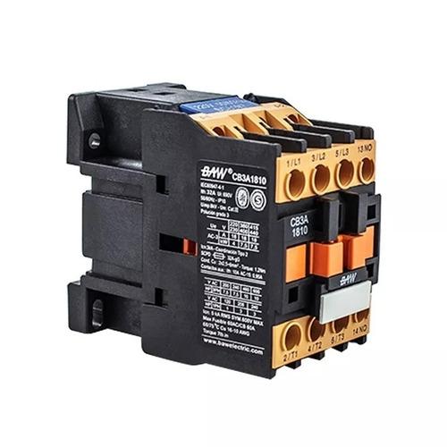 contactor tripolar baw 18 amp bobina 24v/220v0  7,5kw