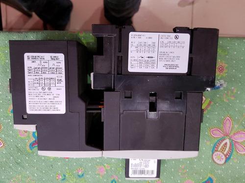 contactora  siemens trifasica  bobina 24 volts ac  50 amps