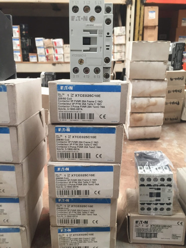 contactores 3 polos, 25 amp eaton xtce025c10e