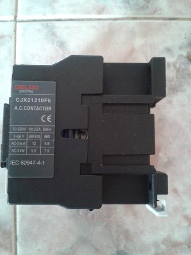 contactores eléctricos de 25 amp delixi