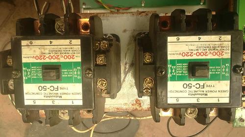 contactores magneticos