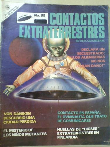 contactos extraterrestres revista  no 99 niños mutantes