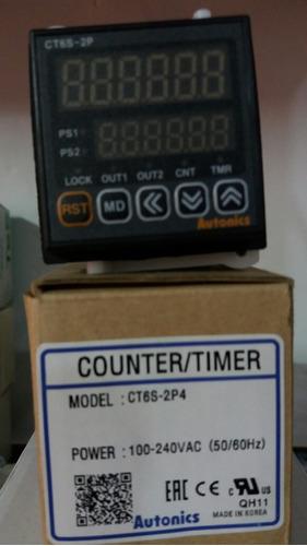 contador ct6s-2p4 autonics