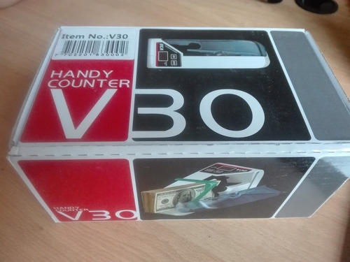 contador de billetes portatil inalambrica bill counter v30