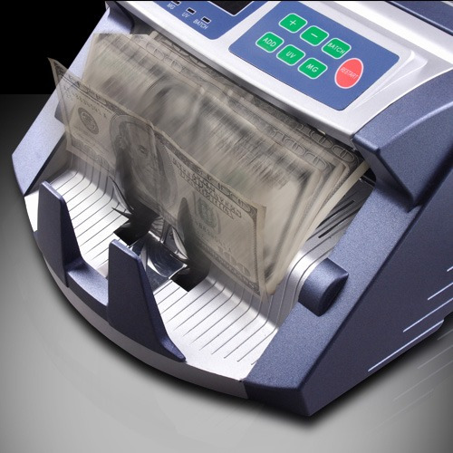 contador detector billetes dolar euro accubanker ab1100 uvmg