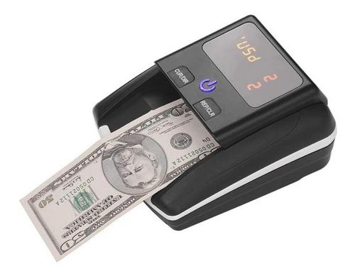 contador detector billetes dolares euros falsos portátil usd