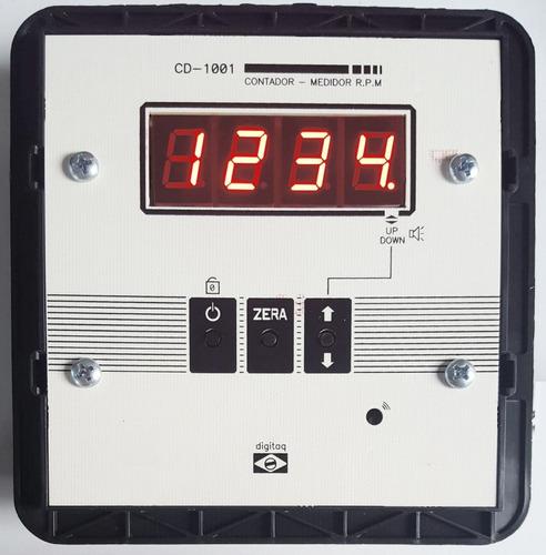 contador digital voltas giros tacometro caixas objetos pulso
