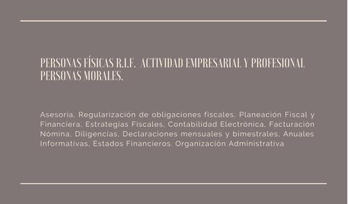 contador fiscal, contable y administrativo