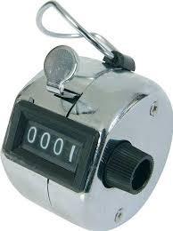 contador manual de 4 digitos