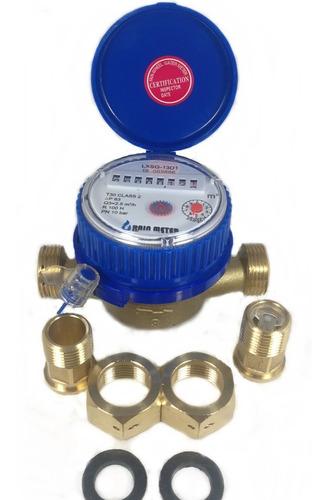 contador  medidor de agua 1/2 control interno  envió gratis