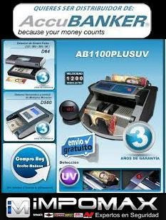 contador monedas x 1500  ab610 accubanker banco negocio usa