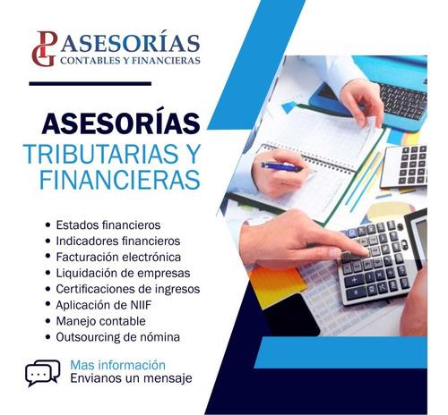 contador público - asesorías contables y financieras