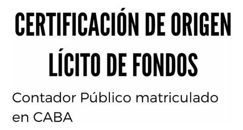 contador público certificación y balances en el día