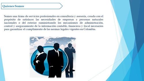 contador publico - contabilidad, impuestos, niif, revisoria
