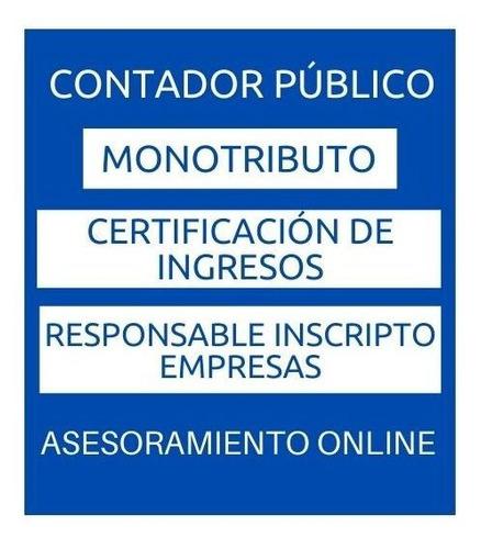 contador público - estudio contable
