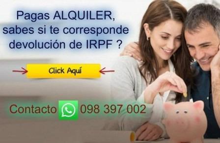 contador público - estudio contable declaración irpf dgi bps