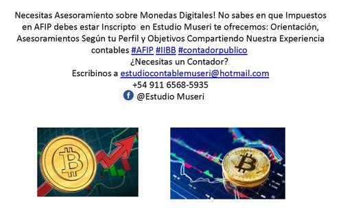 contador público monotributo  asesoramiento bitcoin afip sas