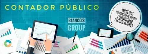 contador publico - monotributo - ganancias - certificaciones