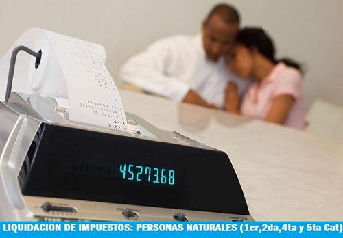 contador publico para personas naturales y jurídicas s/.100.