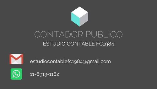 contador publico - ri / monotributo / iva / iibb