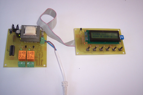 contador timer ascendete descendente programable display lcd