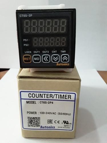 contador timer ct6s-2p4 autonics