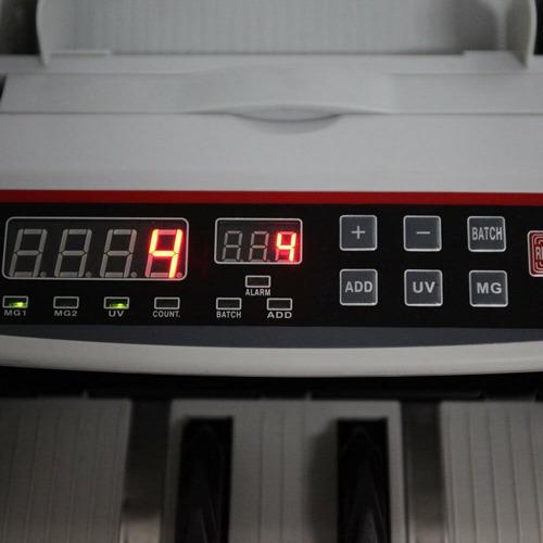 contadora billetes detector doble falso + repuestos si 20 50