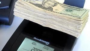contadora d billetes y monedas + impresora msys10 accubanker